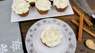 Gingerbread Cupcakes - Keto/Low Carb/Gluten Free