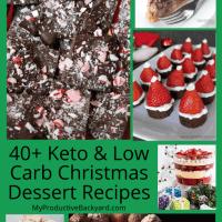 40+ Keto Low Carb Christmas Desserts