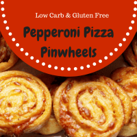 "Pepperoni Pizza Pinwheels, Low Carb, Gluten Free, THM ""S"""