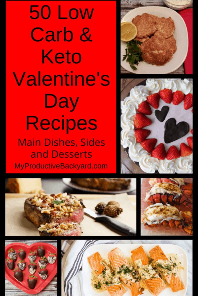 Low Carb Keto Valentine's Day Recipes collage
