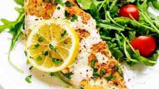 Keto Lemon Chicken - Low Carb & Gluten Free