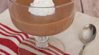 Low Carb Chocolate and Brandy Mousse