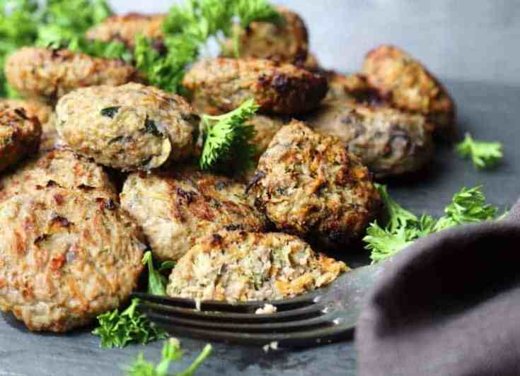 Low Carb Burgers with nutritions for your family to enjoy