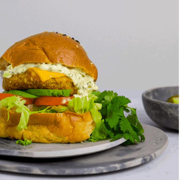 Keto Fish Burger