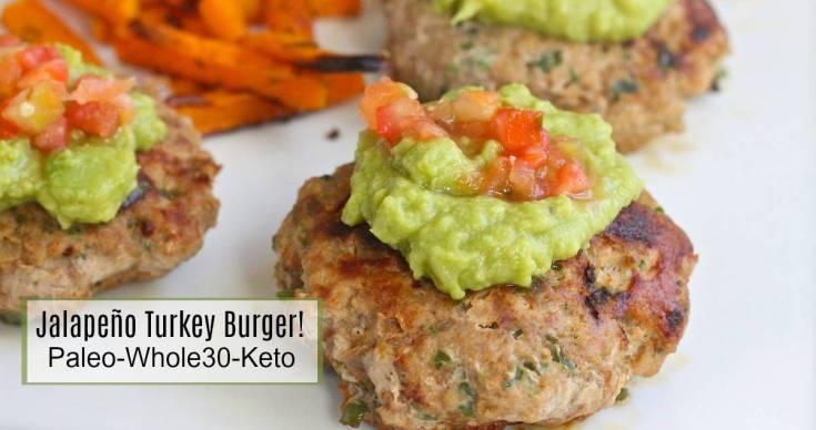 Jalapeño Turkey Burgers!