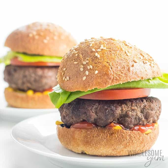The Best Juicy Burger Recipe on the Stove Top or Grill (+ Tips!)