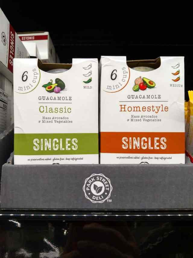 Guacamole Singles, Classic, Spicy and Homestyle in store