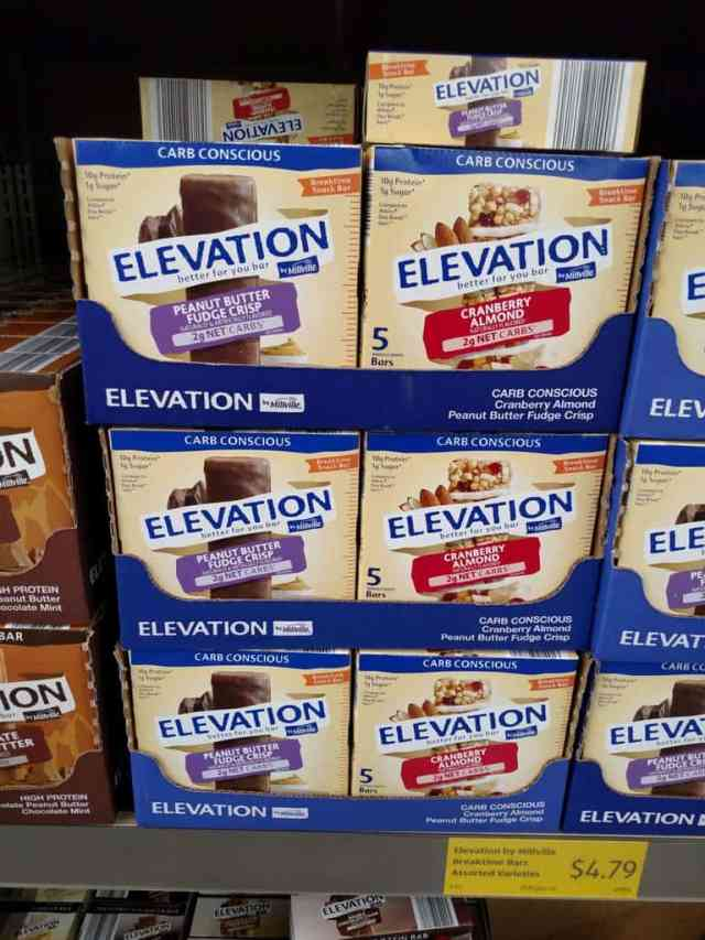 Elevation Bars in store