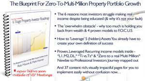 Step by Step, Zero to Multi Millionaire Property Investor Roadmap