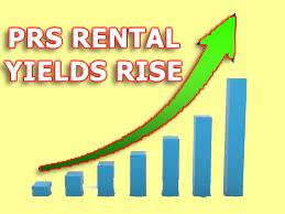 UK PRS Rental Yields Increase