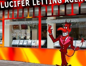 New Row Over Letting Agent's Evil Fees