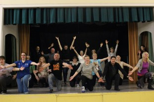 SMTC in rehearsals for Snow White and the Seven Dwarfs