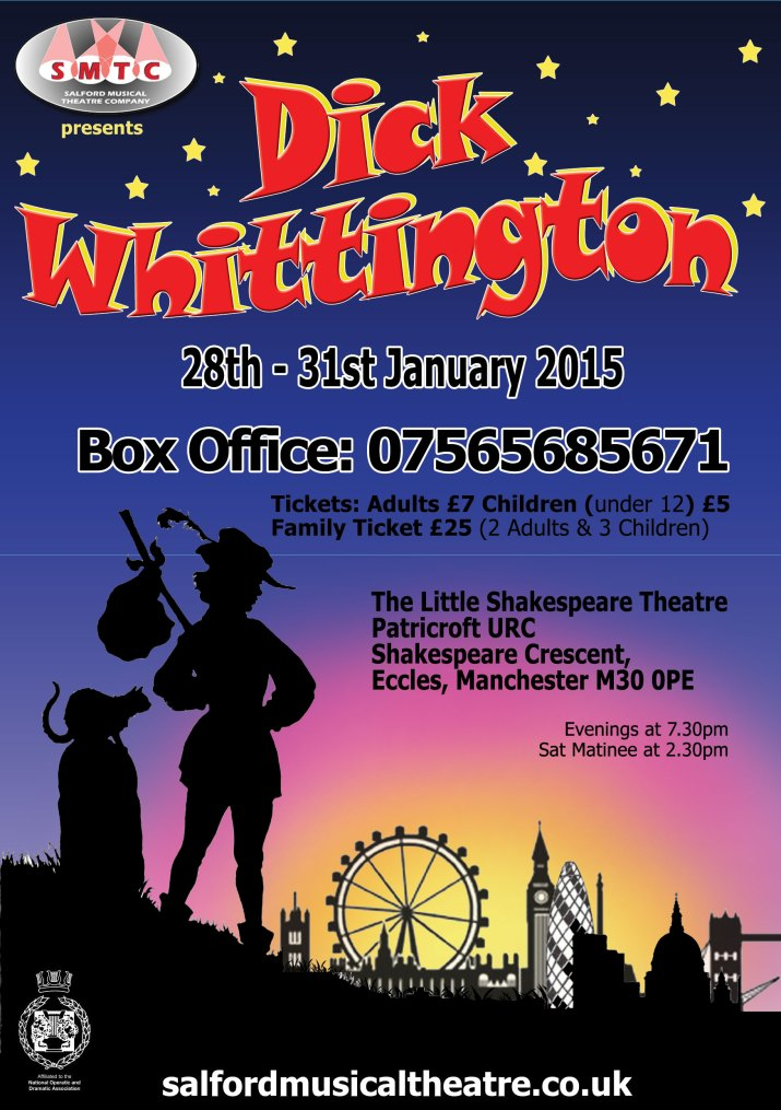 SMTC Presents Dick Whittington 28th - 31st January 2015
