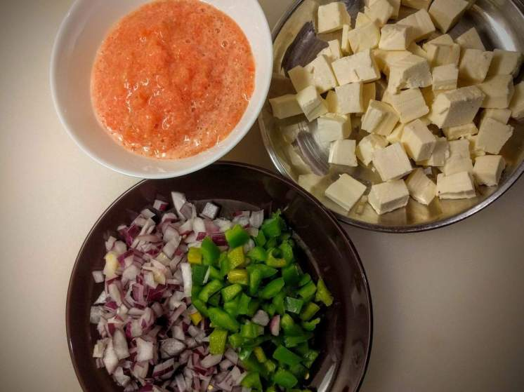 Kadhai Paneer Recipe Instructions