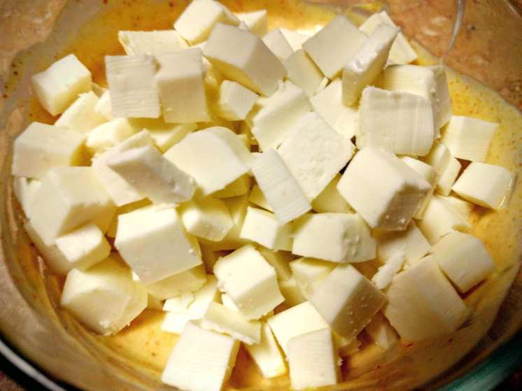 Paneer Tikka Pizza Recipe Step By Step Instructions 3
