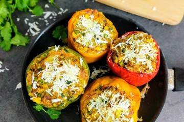 Stuffed Capsicum Recipe Step By Step Instructions