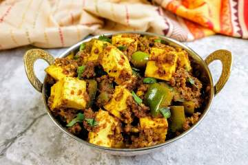 Kadai Paneer Dry Recipe Step By Step Instructions