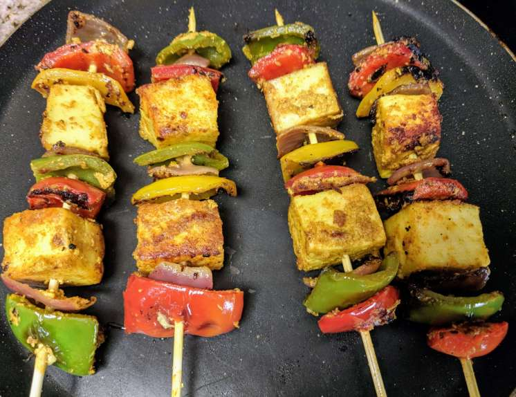 Paneer Tikka Recipe Step By Step Instructions 8