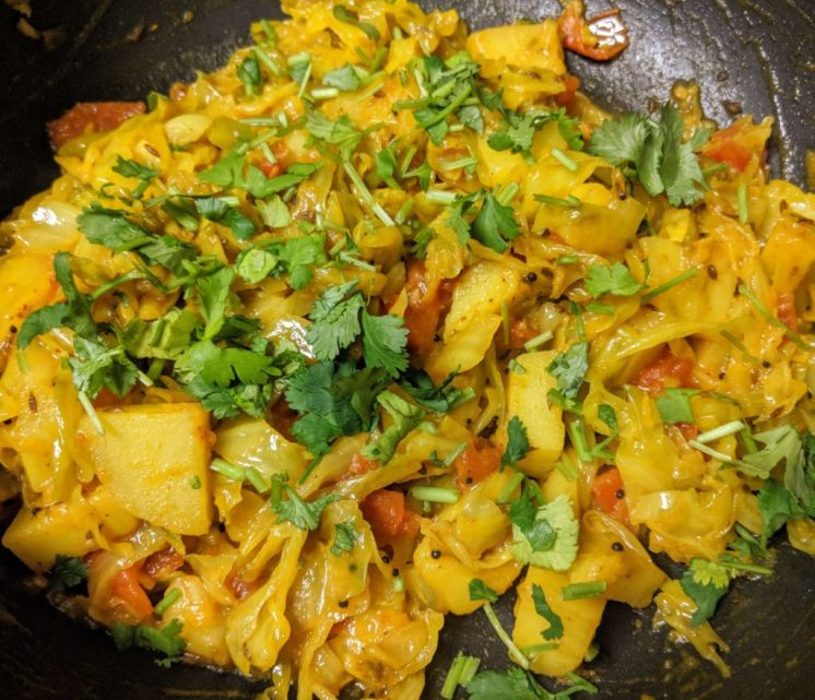 Aloo Patta Gobhi Recipe Step By Step Instructions 10