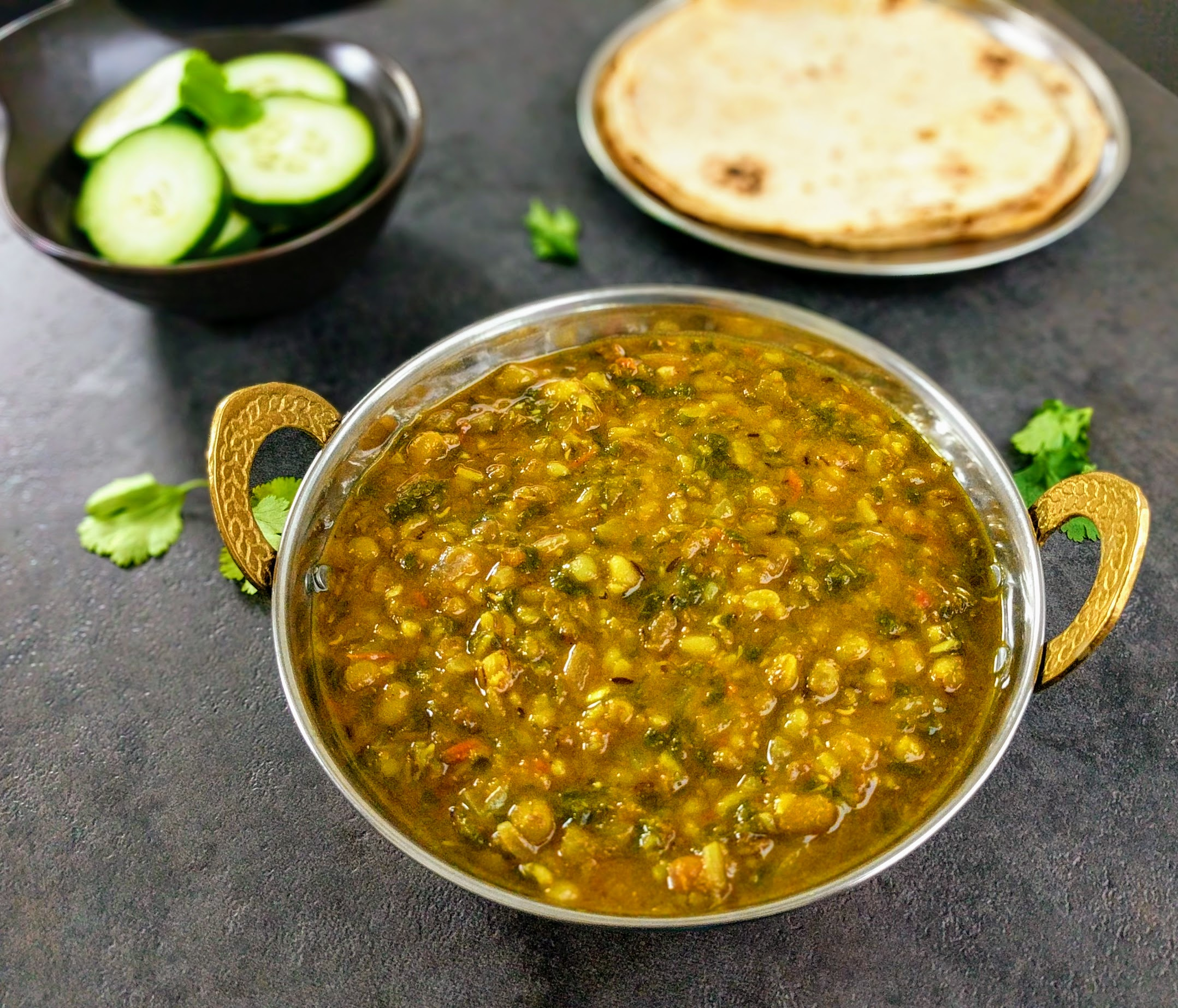 Dal Palak Recipe Spinach Lentil Curry
