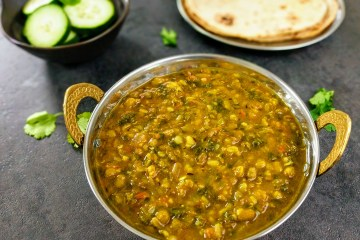 Dal Palak Recipe Step By Step Instructions