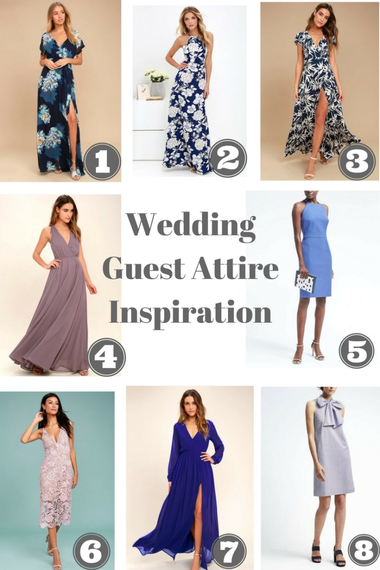 Wedding Guest Attire Inspiration