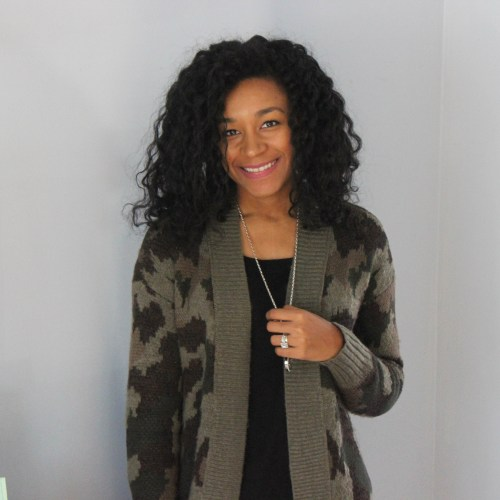Army Cardigan with Faux Leather Leggings-6645