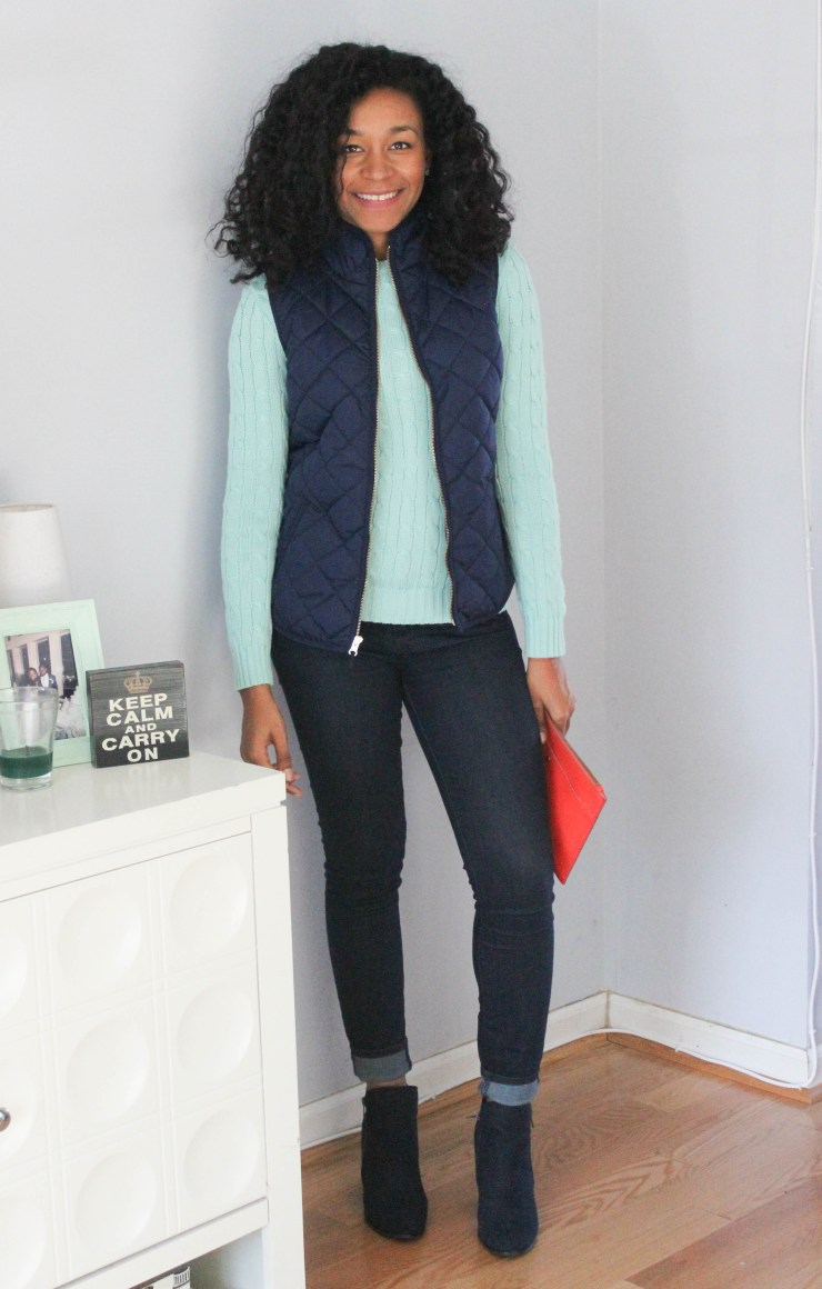 Ralph Lauren Sweater and Old Navy Vest -8026