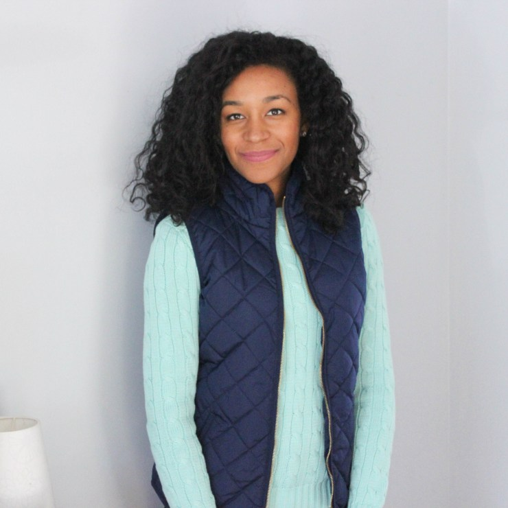Ralph Lauren Sweater and Old Navy Vest -8045