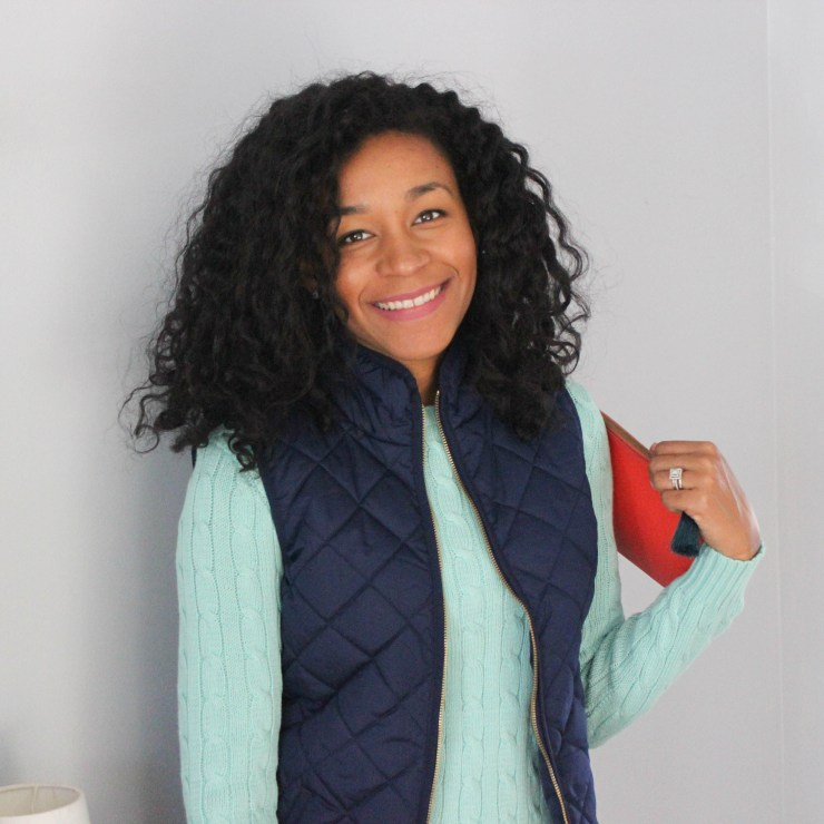 Ralph Lauren Sweater and Old Navy Vest -8122