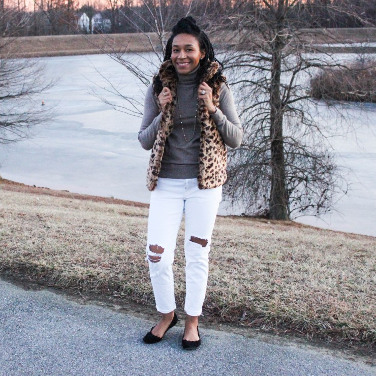 The cutest leopard vest-9913