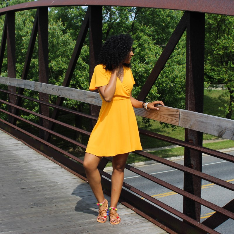 Yellow Sun Dress-0349