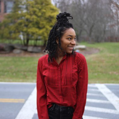 Red J. Crew Plaid Blouse -4000