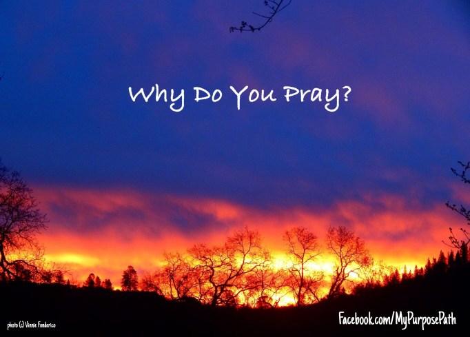 why do you pray2