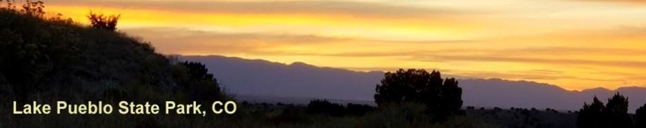 Lake Pueblo State Park Sunset