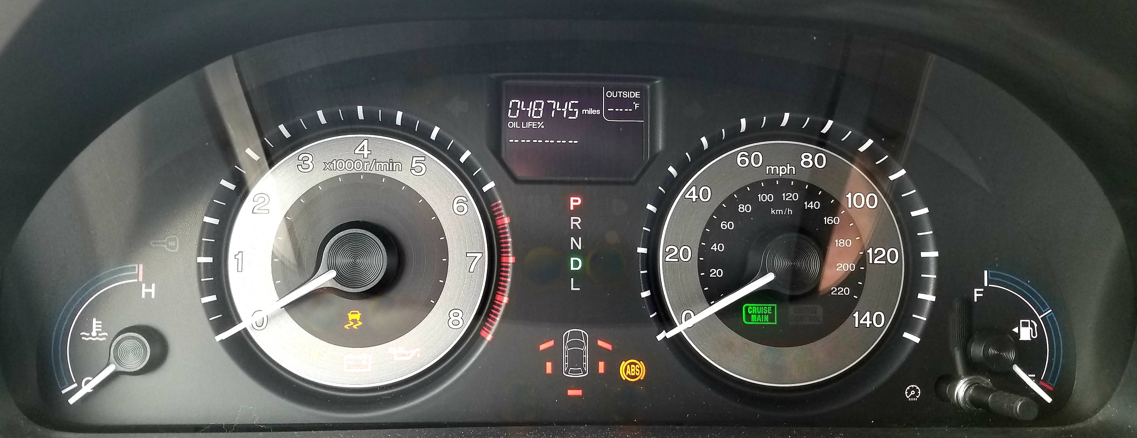 Honda Abs Vsa Dash Lights Stay On Easy Fault Reset Procedure