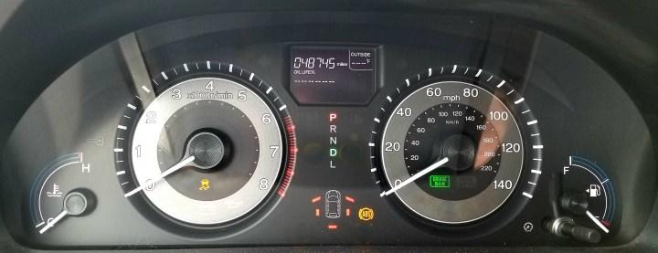 Honda Vsa Warning Light Accord