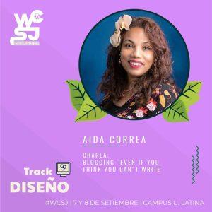Aida Correa, Speaker and Teacher
