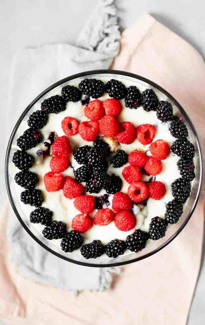 Vegan French Toast Trifle - My Quiet Kitchen