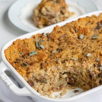 Vegan Cornbread Dressing (Gluten-Free Option)