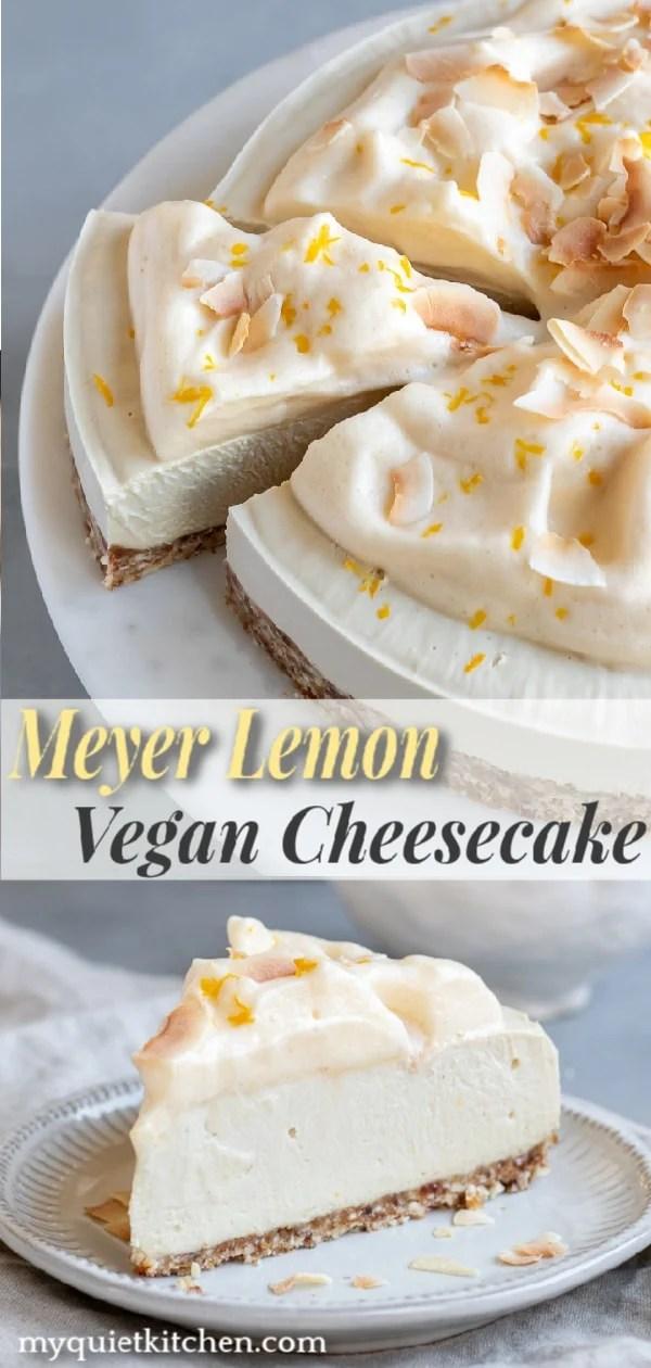 Meyer Lemon Cheesecake Pinterest