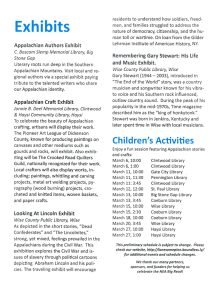 Big Read 2019 Exhibits & Children Events (1)