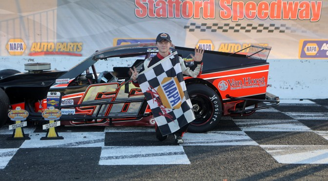Debbis, Hopkins, and Levangie Score NAPA Auto Parts 150 Feature Wins at Stafford Speedway
