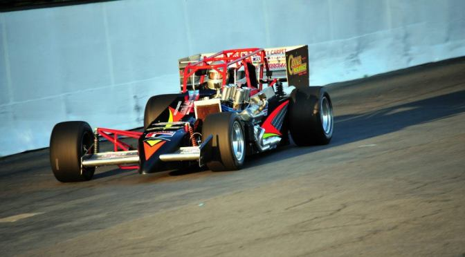 The Canale Insurance and Accounting 2-Seat Supermodified will be piloted by FUTURE Oswego Speedway Legends on Saturday morning of Memorial Day Weekend