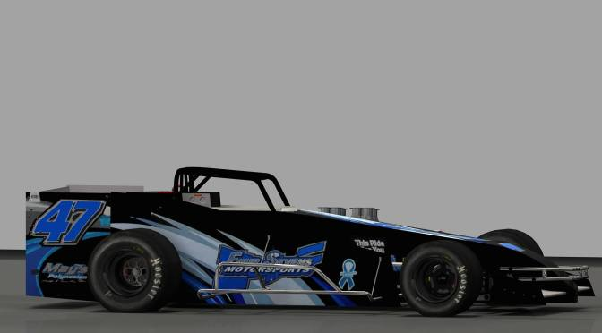 Xtreme Short Track Sim Racing 'Last Car on Lead Lap Award' Added to Weekly Novelis Supermodified Contingency List