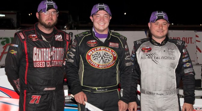 PATRICK EMERLING WINS QUEEN CITY CLASH 75 AT LANCASTER