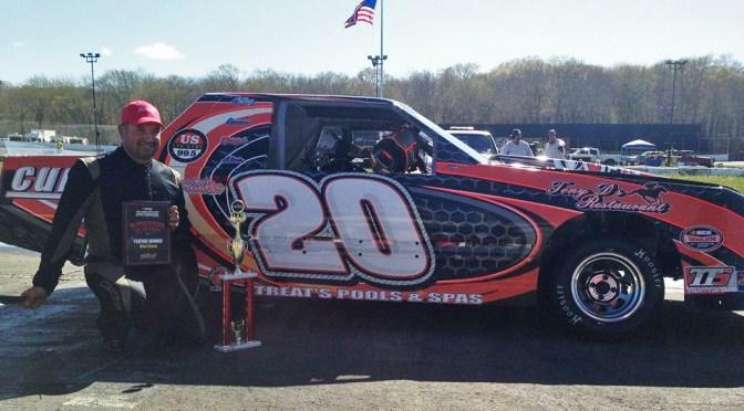 Wayne Burroughs Jr. Shines in Mini Stock Debut at Thompson Speedway