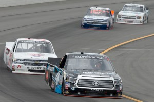 July 30 2016: Christopher Bell, driver of the #4 SiriusXM Toyota truck during the Pocono Mountains 150 race at Pocono Raceway in Long Pond, PA. (Photo by Stephen Furst/Myracenews.com)