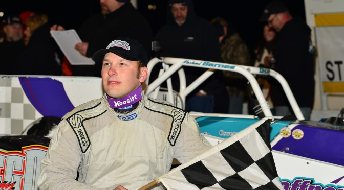 Oswego Title Contenders: 'The Hustler' Michael Barnes Chasing First Career Oswego Speedway Championhip