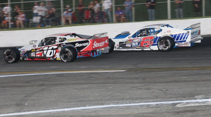 TIMMY SOLOMITO OUTLASTS RYAN PREECE & DAVE SAPIENZA TO CAPTURE RIVERHEAD 200 NASCAR WHELEN MODIFIED TOUR VICTORY